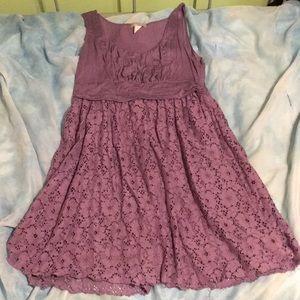 Delia's purple lace dress, XL